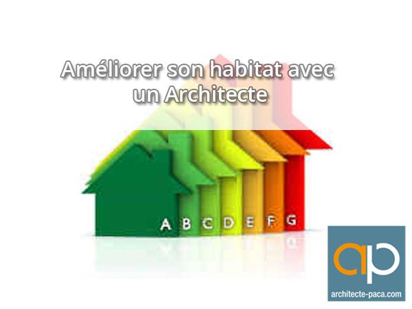 Am�lioration de l'habitat avec un architecte
