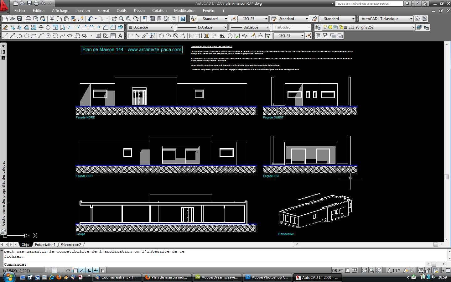 facades autocad