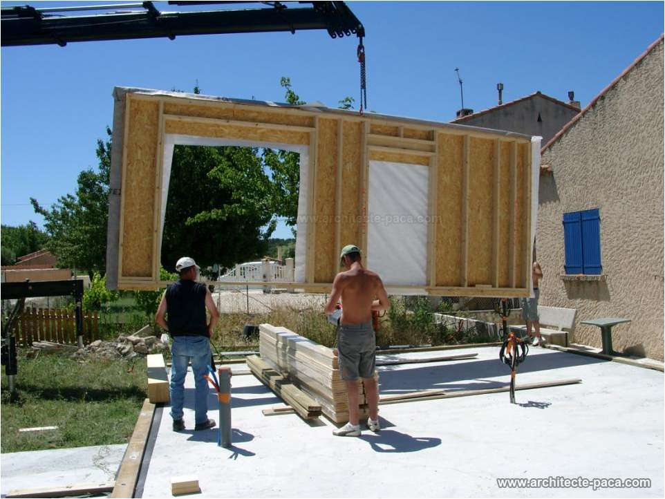 Exemple de plan de maison bois construction des exemples for Maison d architecte plan