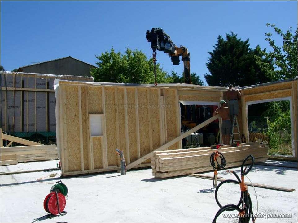 Exemple de Plan de maison bois construction, des exemples de constructions d'un plan de maison  # Maison En Bois Paca