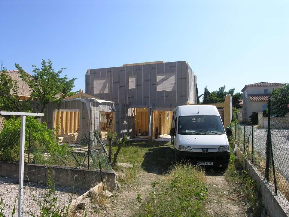 Maison bois 100 000 euros cette maison en ossature bois de m est parfaite pour un budget serr for Construction bois 21