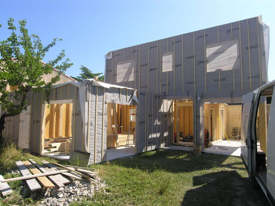 Exemple de plan de maison bois construction des exemples for Maison en construction