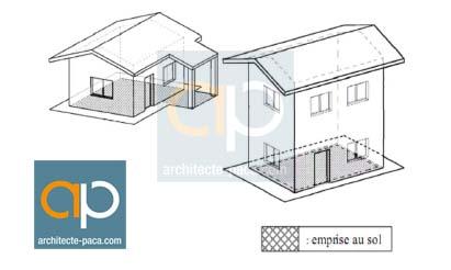 coefficient d 39 emprise au sol c e s tout savoir sur l 39 emprise au sol. Black Bedroom Furniture Sets. Home Design Ideas