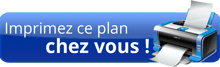 Acheter : Plan de maison semi contemporaine 1/100e