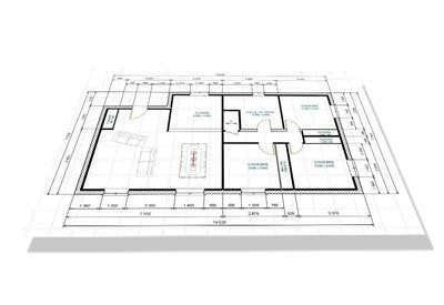 Plan de maison esquisse