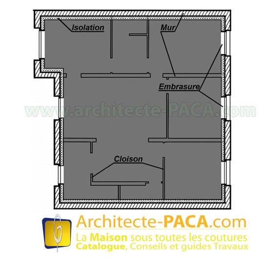 le mode de calcul de la surface de plancher r forme. Black Bedroom Furniture Sets. Home Design Ideas