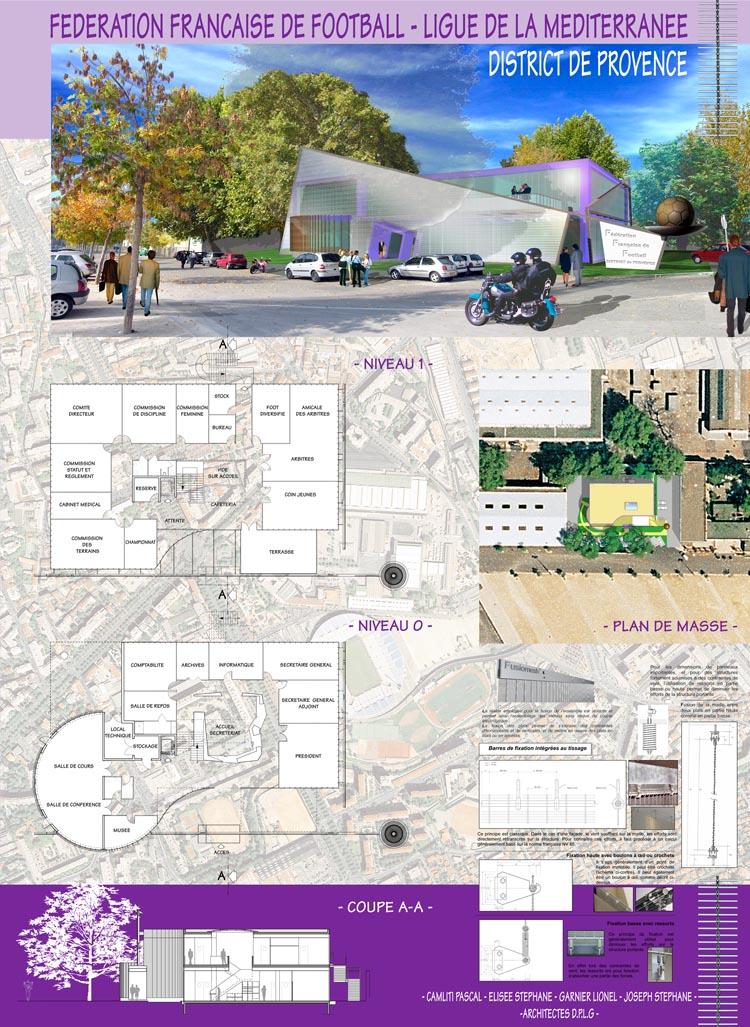 R alisations concours d 39 architecte pascal camliti for Architecture concours