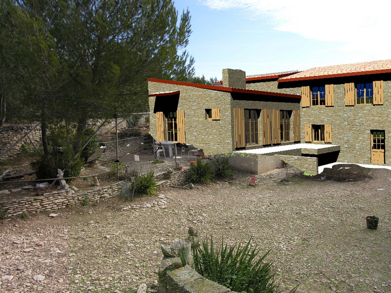 extension Maison MAS provencal