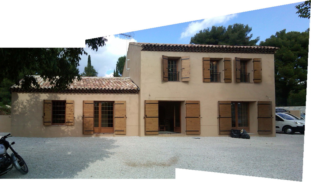 ... Extension Villa Aubagne Travaux Finis · Plan De Maison Extension ...