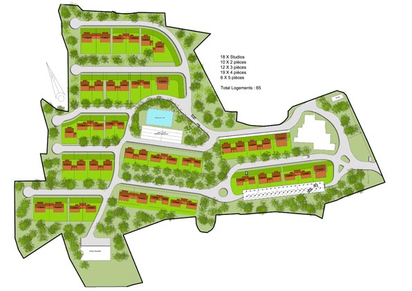 plan de maison lotissement
