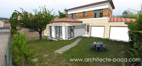 maison d'architecte ossature bois