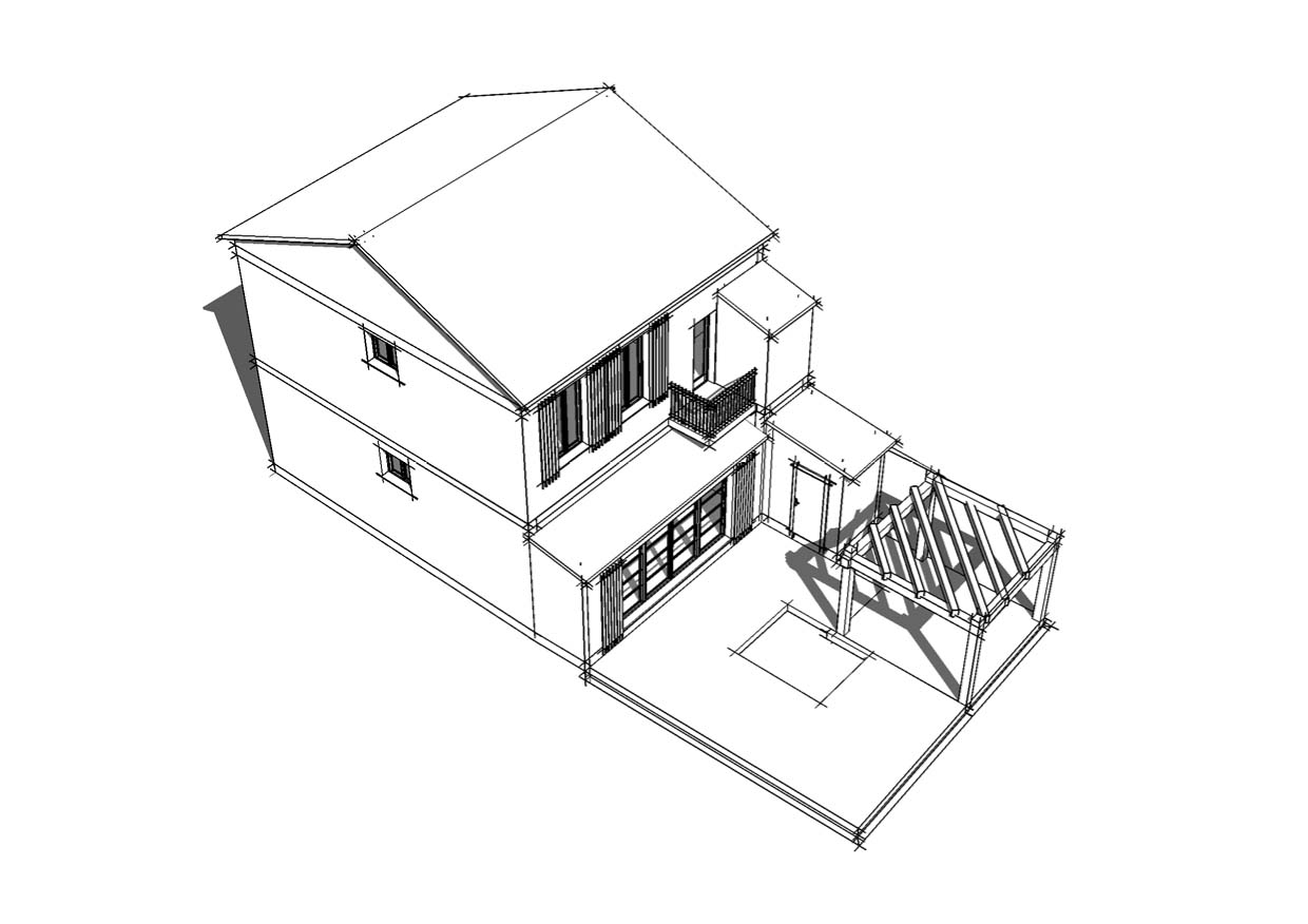 Faire le plan d une maison en 3d maison moderne for Simulation construction maison 3d gratuit