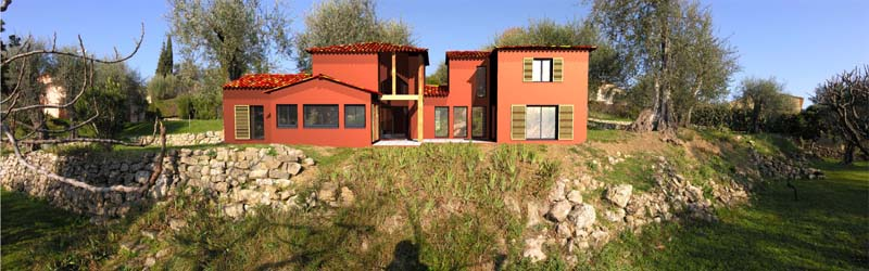 Perspective plan maison individuelle