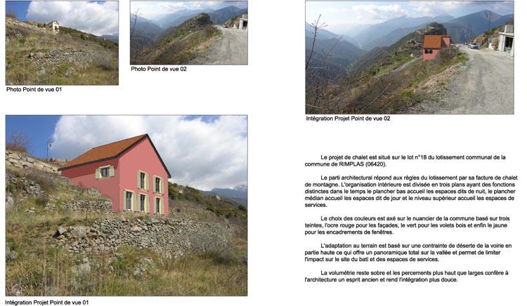Volet paysage maison individueelle