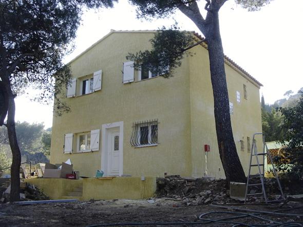 Plan de villa réalisée