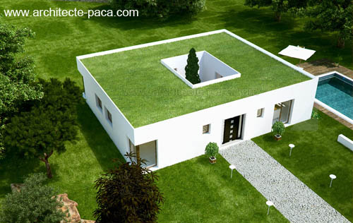 Plan Maison Avec Patio Central Best Get Free High Quality Hd