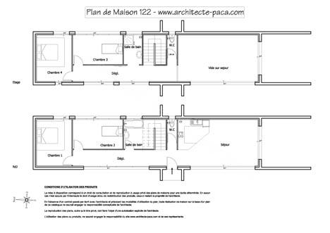 t l charger plan maison 122 niveaux plan 1 100e plan de maison individuelle d 39 architecte n 122. Black Bedroom Furniture Sets. Home Design Ideas