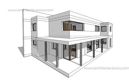 Conpoorizi Plan De Maison Moderne