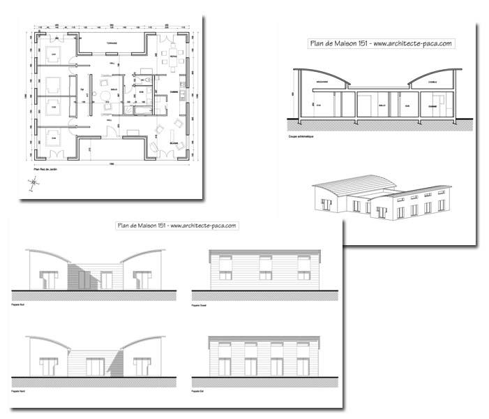 Plan De Maison Moderne Gratuit Pdf Plan Maison M Plan De Maison Au