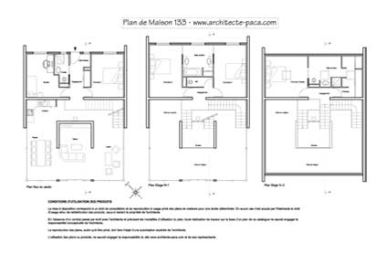 T l charger plan de maison design niveaux 1 100e plan for Comment obtenir vos plans de maison