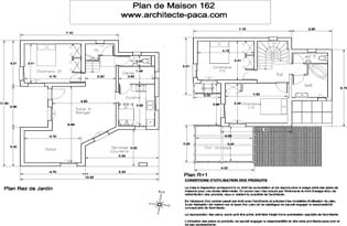 T l charger plan niveaux avec mesures 1 100e plan maison for 162 plan