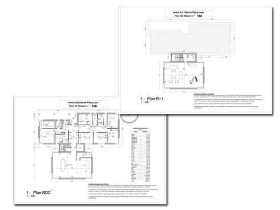 T l charger plan maison grande famille niveaux cotations for Plans de maison de famille