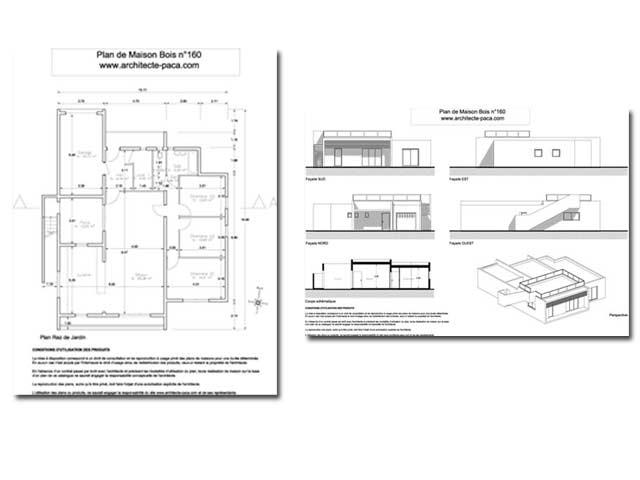 Plan Maison Gratuit Pdf Cool Plan De Maison Plain Pied Avec Garage