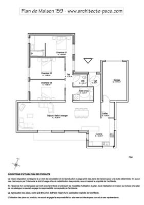 T l charger plan maison contemporaine plain pied rdj 1 - Plan de maisons contemporaines ...