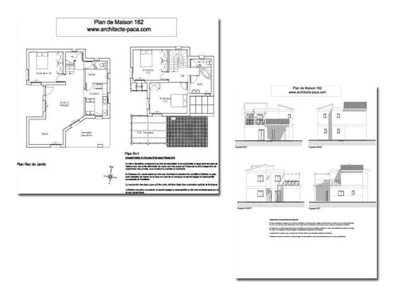 T l charger dossier complet 1 100e plan maison for Plan complet maison