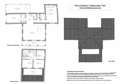 telecharger plan maison traditionnelle plan niveaux 1 With plan maison 2 niveaux 3 plan de maison traditionnelle villa t5darchitecte 163