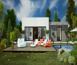 plan-maison-contemporaine-toit-plat
