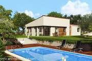Plan Maison plain pied 4/5 pièces, ± 180 m²