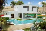 Plan Maison toit plat 4/5 pièces villa