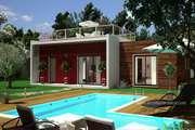 Plan maison BOIS plain pied 160 Villa