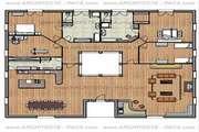 Plan de maison type 5, ± 500 m²