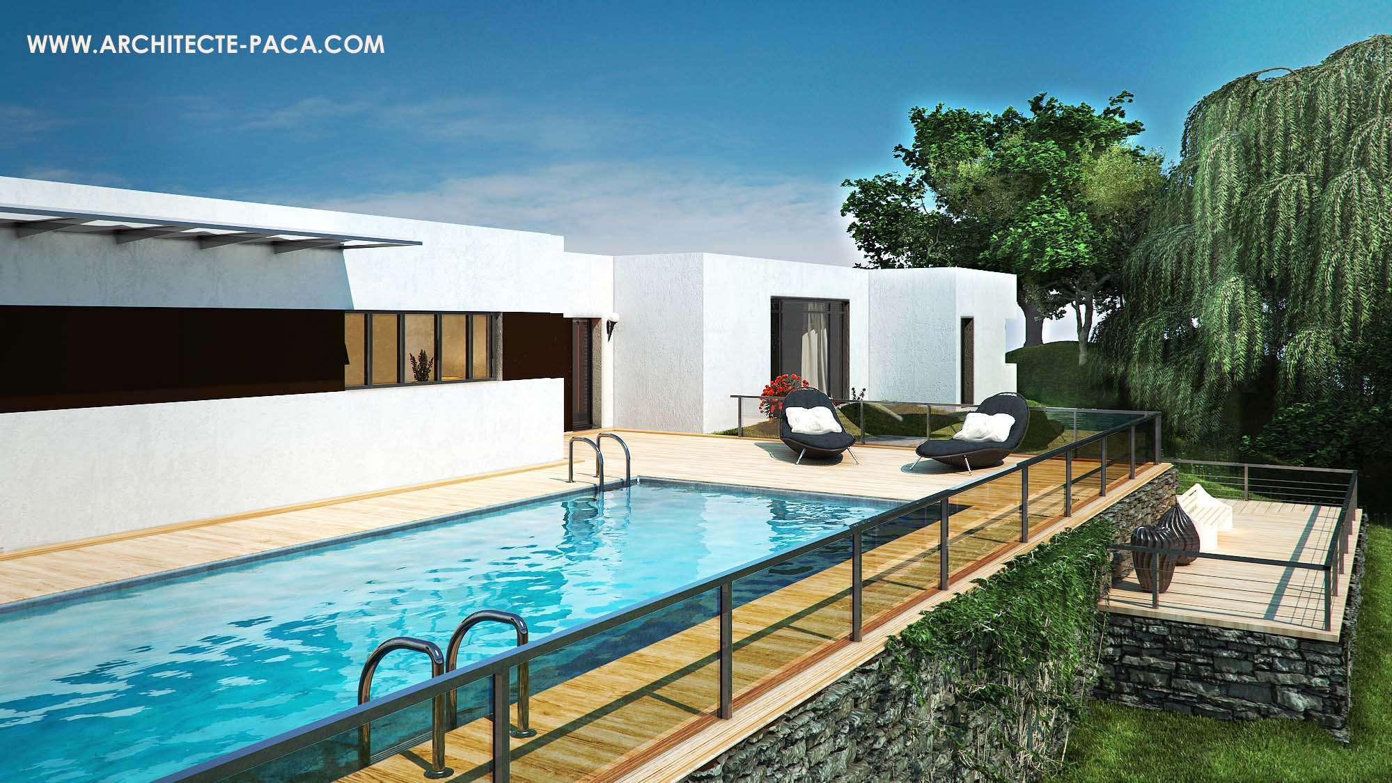 Plan De Maison Moderne plan maison moderne plain pied toit plat en pdf