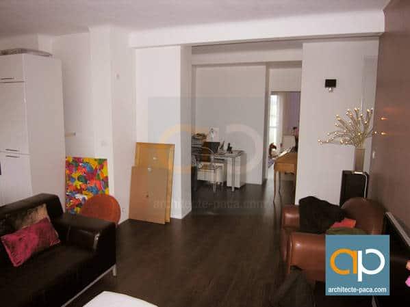 Appartement marseille renover par architecte 01 for Appartement design malmousque marseille