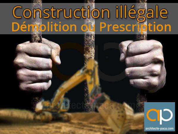 Prescription pour construction illégale
