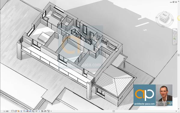 plan-architectural-maison-niveau