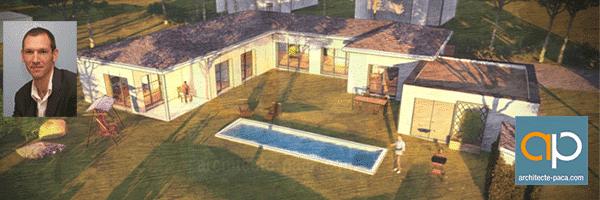 maison-semi-contemporaine-plain-pied-en-U