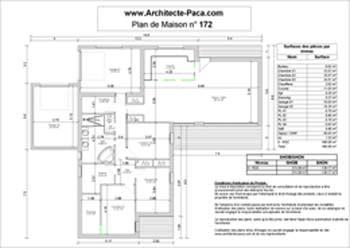 Plan Construction De Maison En U Plans De 13