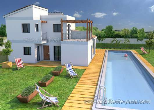 Plan Maison Traditionnelle Type 4 Villa Plan N 162