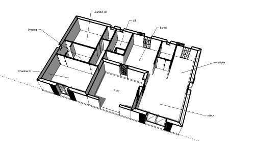 Plan De Maison U