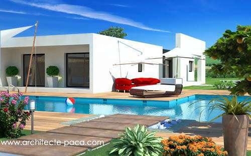 Plan De Maison Moderne Toit Plat Villa Plan N 144