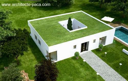 Maison Moderne Atria Plan Maison Gratuit Maisons Clair Logis 10