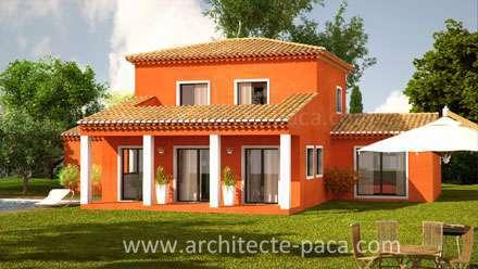 Maison traditionnelle avec terrasse tropézienne