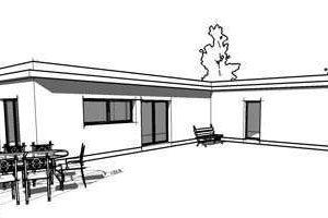 Plan de maison contemporain gratuit