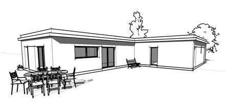 Plan De Maison Gratuit Maison Moderne à Toit Plat Plan N 138