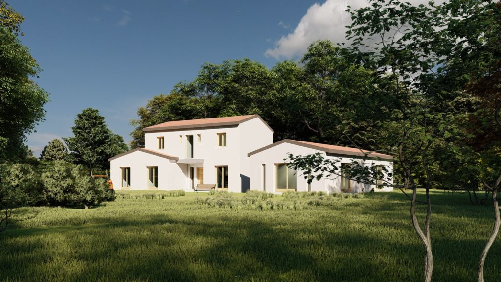 Plan de maison 121 Moderne