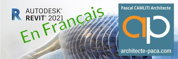 REVIT 2021 en Français, les nouveautés